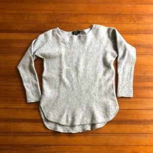 charter club cashmere sweater - grey